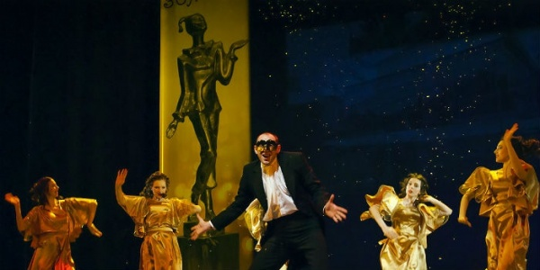 Вручение почетной премии «Золотая Маска» состоится вДень театра
