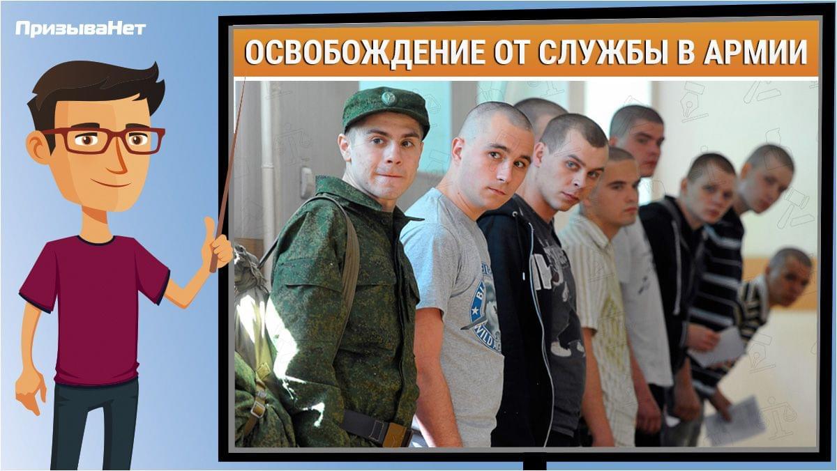 кто освобождён от призыва на военную службу prizyvanet.ru