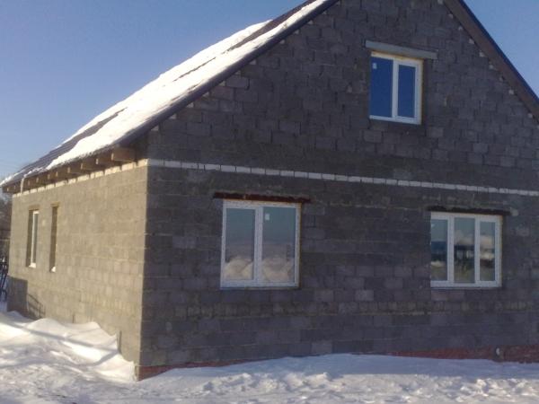 Как построить дом из керамзитобетонных блоков своими