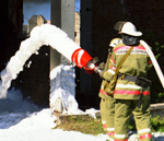 Пожар в районе энгельсской авиабазы бушевал полдня